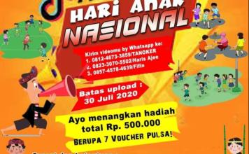 Contest TikTok Hari Anak Nasional