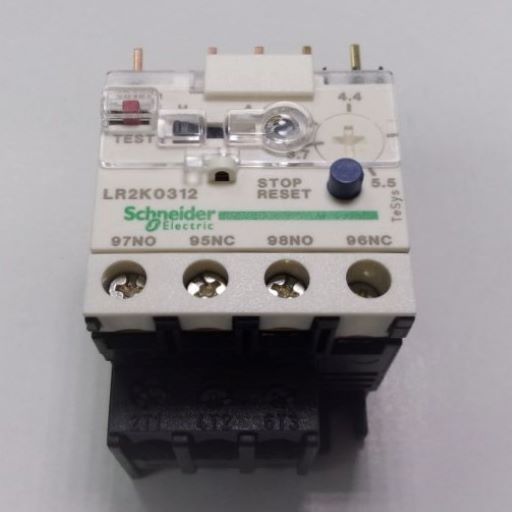 LR2K0312-Thermal Overload Relay 3.8-5.5 Amps K-Line
