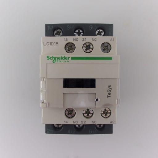 LC1D18F7-Contactor 3NO-1NO/1NC 110v 18A