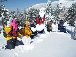 再び雪散策♪