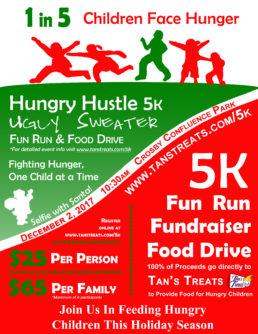 Hungry Hustle Ugly Sweater 5k Fun Run