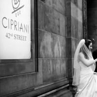 Stunning Winter White Wedding at Cipriani 42nd Street
