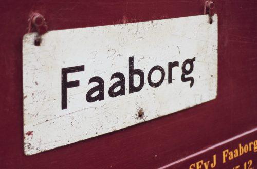 """Faaborg ist der """"Heimat-Bahnhof"""" der historischen Syd Fynske Veteranjernbane. (Foto: Andreas Lerg)"""