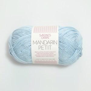 Garnnøgle fra Sandnes Mandarin Petit Lys Blå 5930