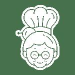 logo tante kookt icon fill white - Tante Kookt - Take Away & Home Delivery
