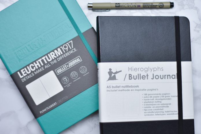 Bullet journal setup voor 2019