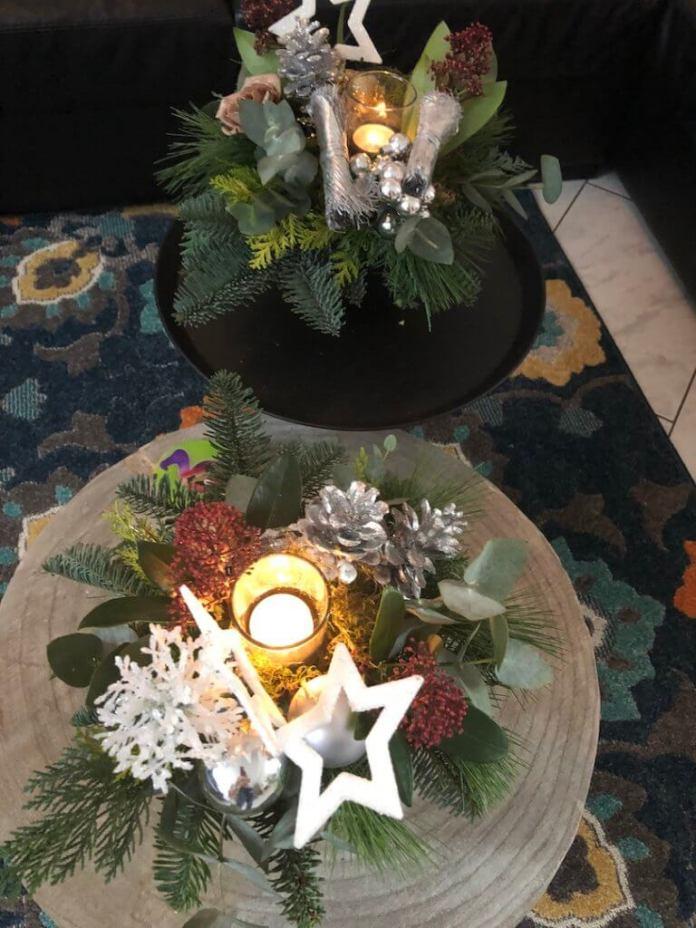Dag Sinterklaas en hallo Kerst kerstsstukjes maken