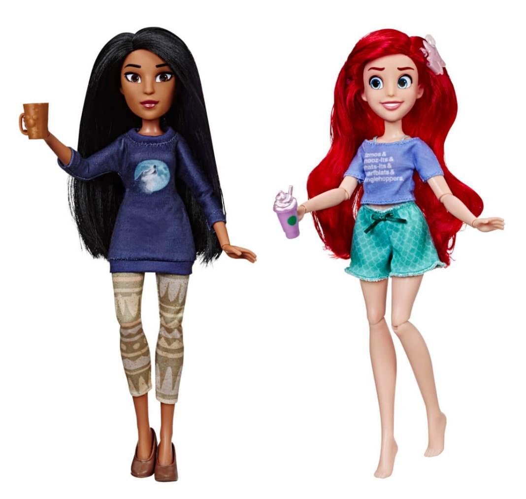 Disney Comfy Squad Ariel en Pocahontas