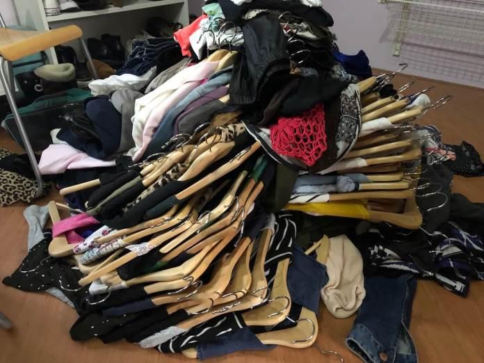 Een nieuw jaar en nog even genieten van de vakantie kledingkast opruimen