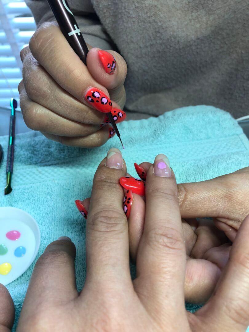 Een week vol beauty en nieuwe nagels