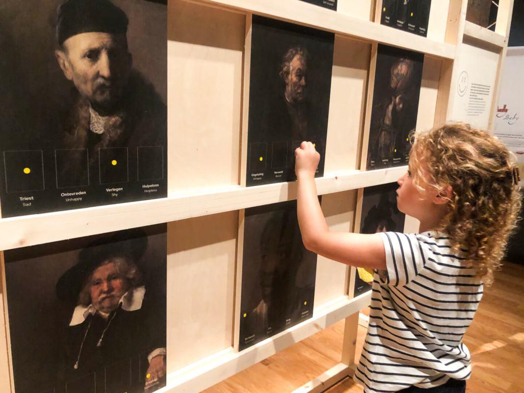 Hallo Rembrandt welke emotie zie en voel jij