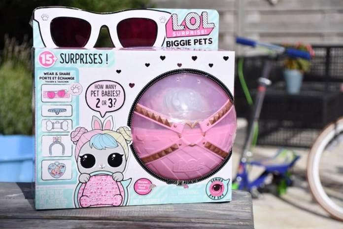 LOL Surprise Biggie Pets verpakking