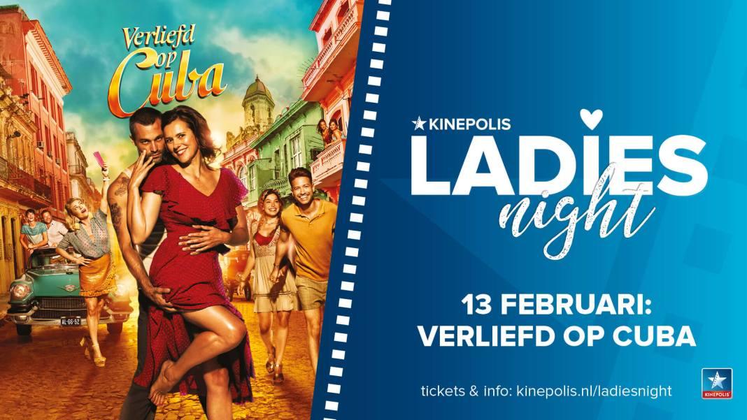Verliefd op Cuba bij de Ladies Night
