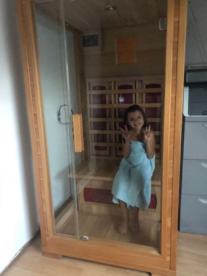 Weer zieken in huis sauna uitproberen