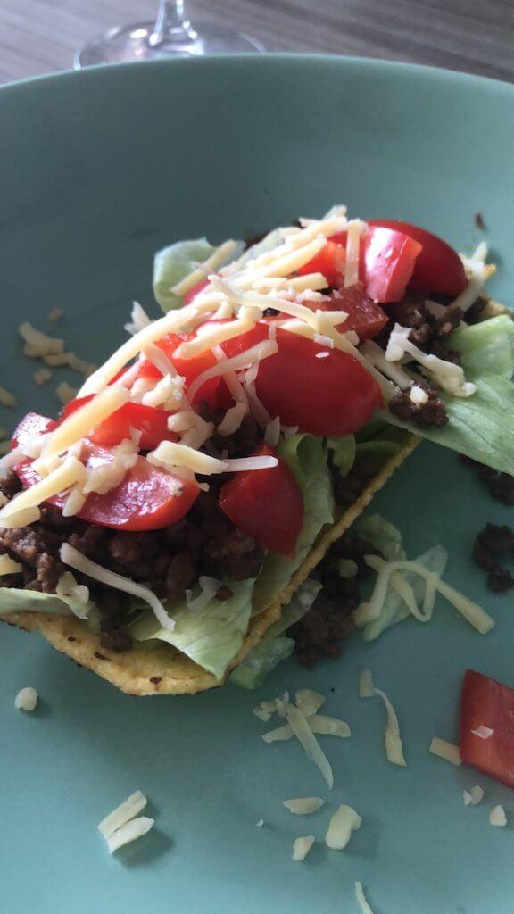 Weer zieken in huis taco's