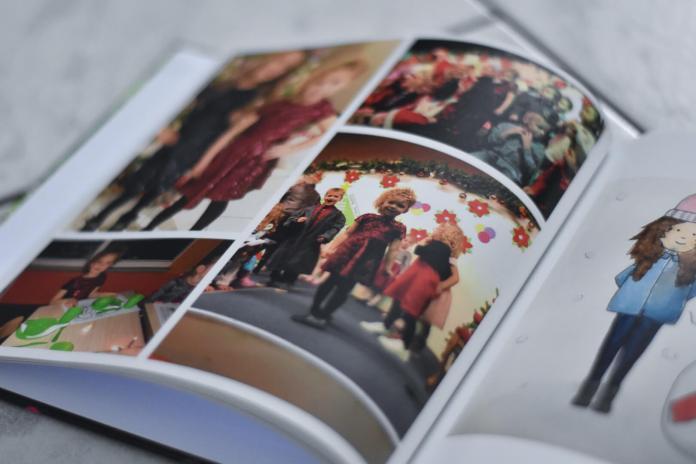 fotoherinnering voor later kerst op school