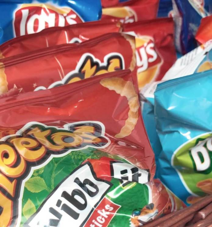 kleine meisjes worden groot chips