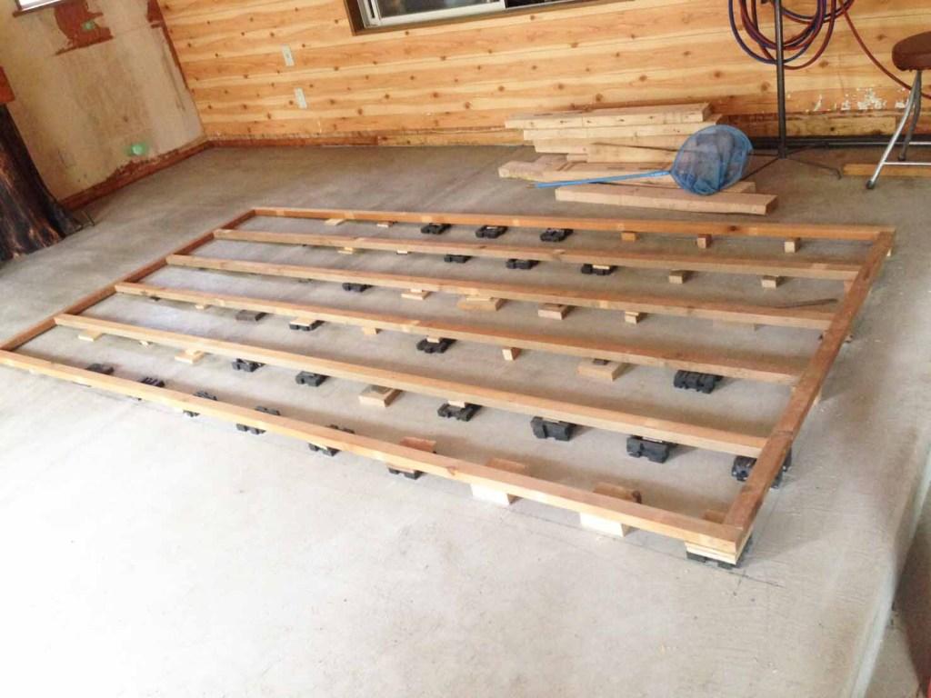 鉄板の土台