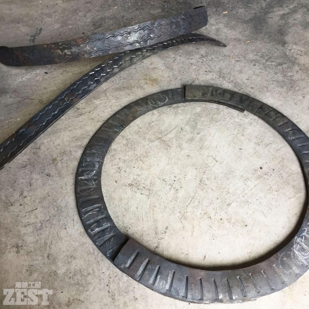 ロートアイアンのタイヤ