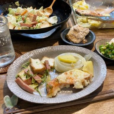 スパムと野菜の炒め物
