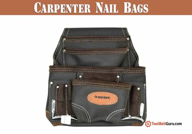 8 Best Rated Carpenter Nail Bags | A Buyer's Guide