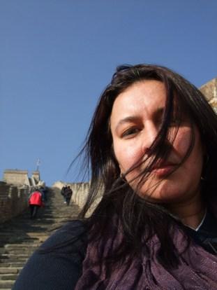 Me at the Great Wall of China