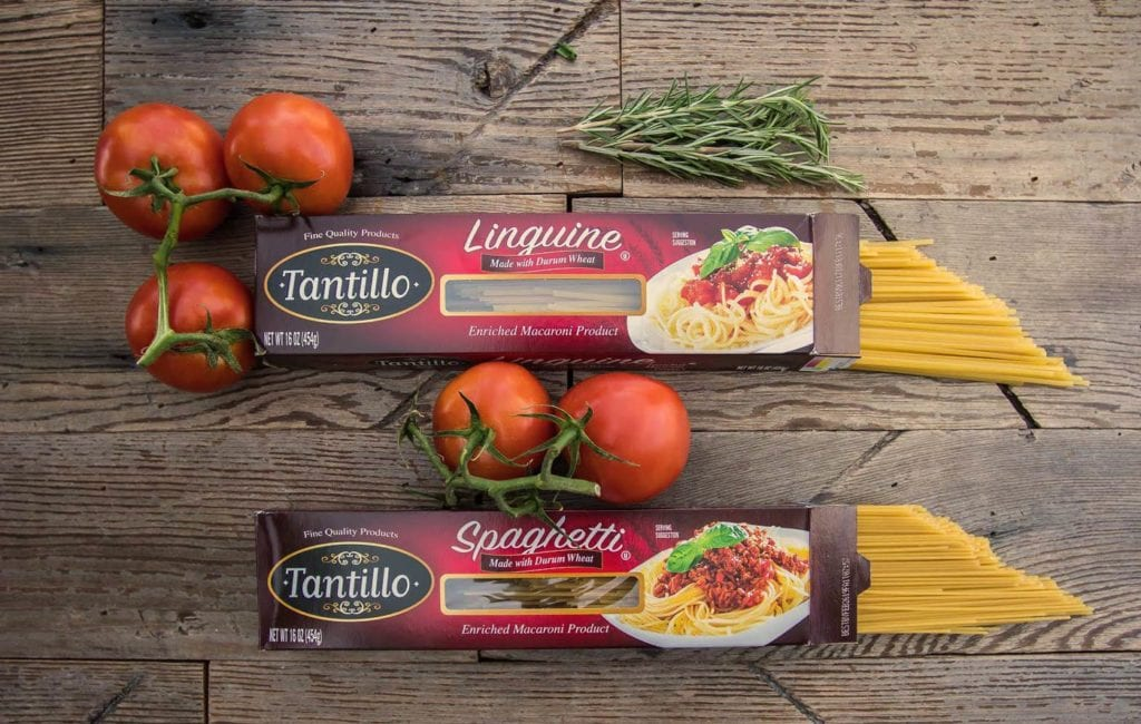 Tantillo Foods Linguine Spaghetti Home Background