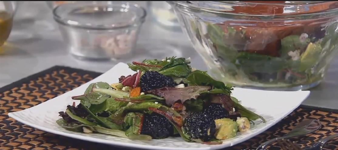 Blackberry salad sBs 1