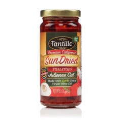Tantillo Sundried Tomatoes Julienne – Garlic 8.5oz
