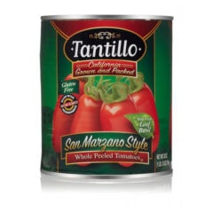 Tantillo California Whole Peeled Tomatoes – 28oz