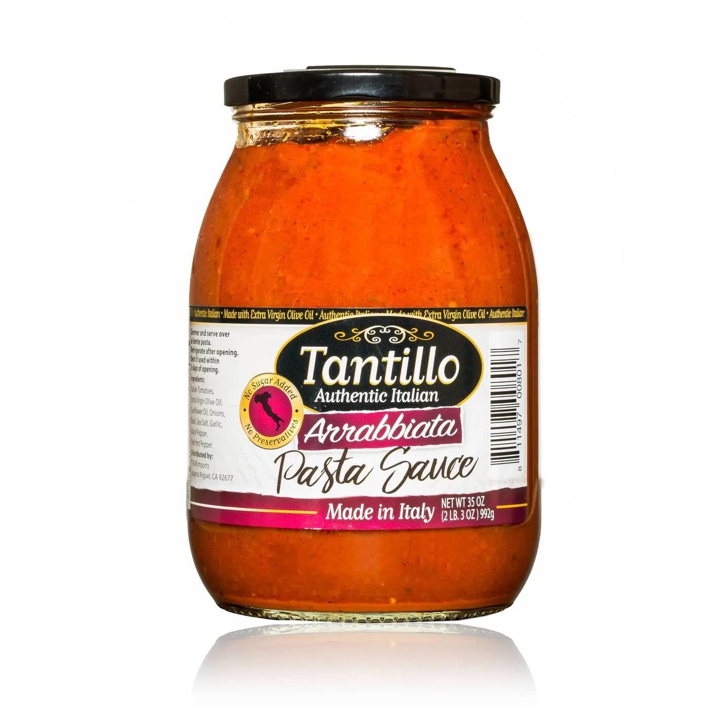 Tantillo Imported Italian Arrabbiata Pasta Sauce