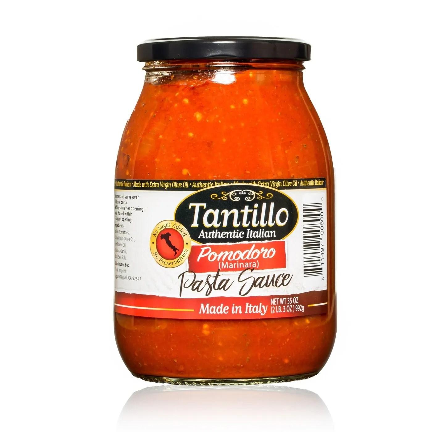 Tantillo Imported Italian Pomodoro Pasta Sauce
