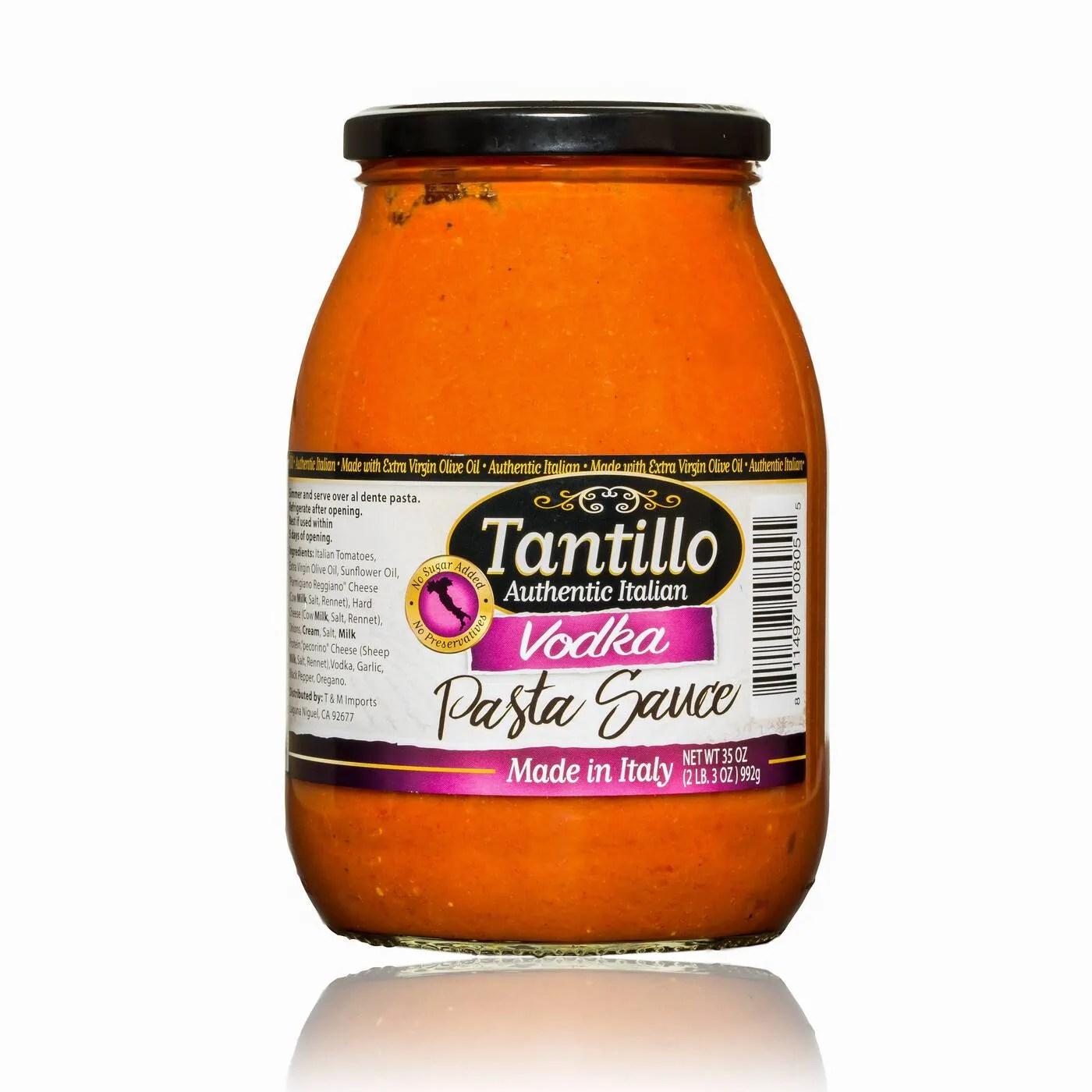 Tantillo Imported Italian Vodka Pasta Sauce