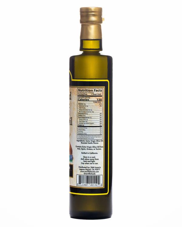 Roasted Garlic 500ml Nutritional