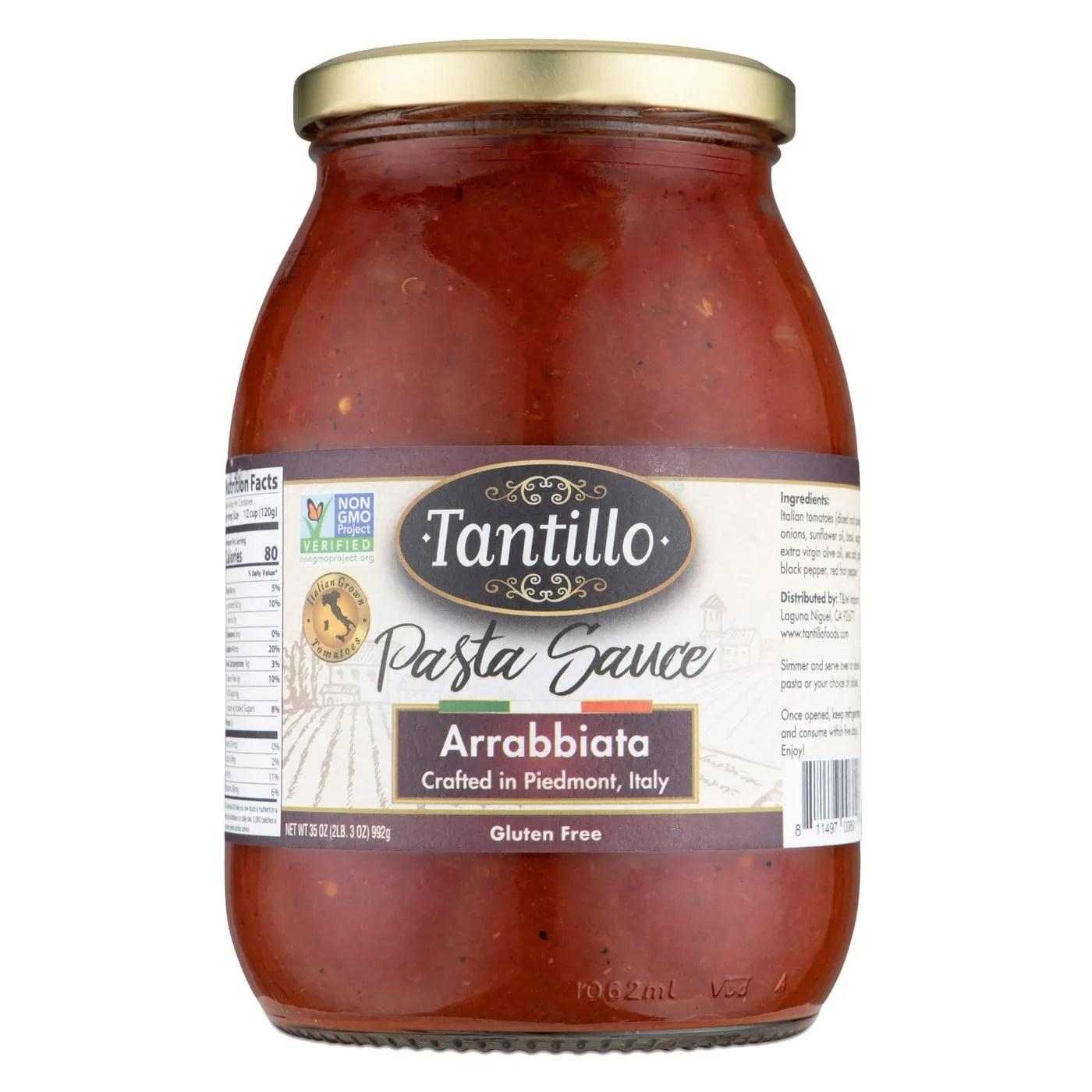 Tantillo Imported Italian Arrabbiata Pasta Sauce 35oz (Pack of 2)