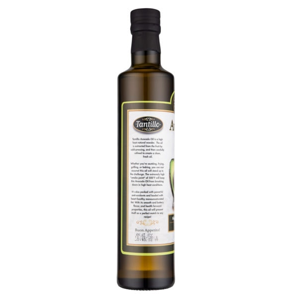 Avocado Oil 500ml Side scaled