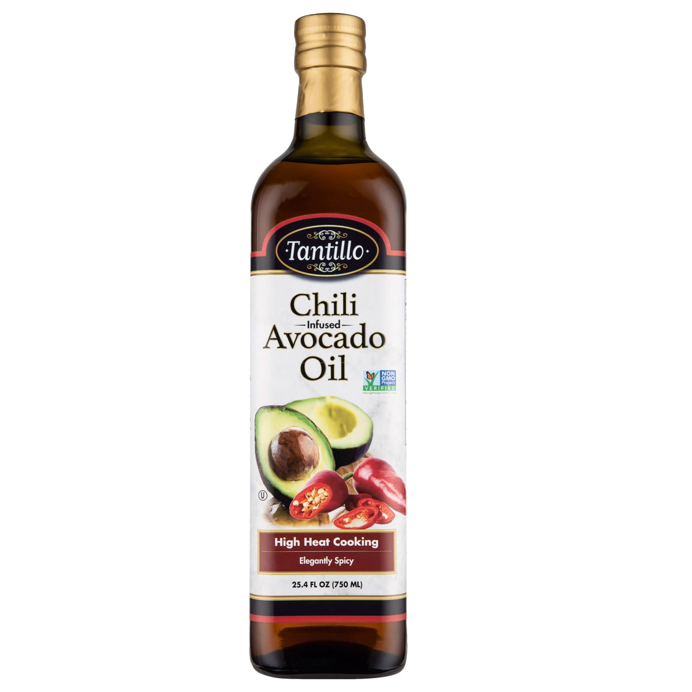 Tantillo Infused Avocado Oil with Chili (Pack of 2)