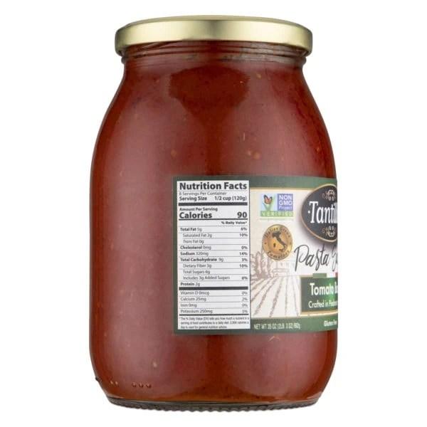 Tomato Basil Nutritional scaled