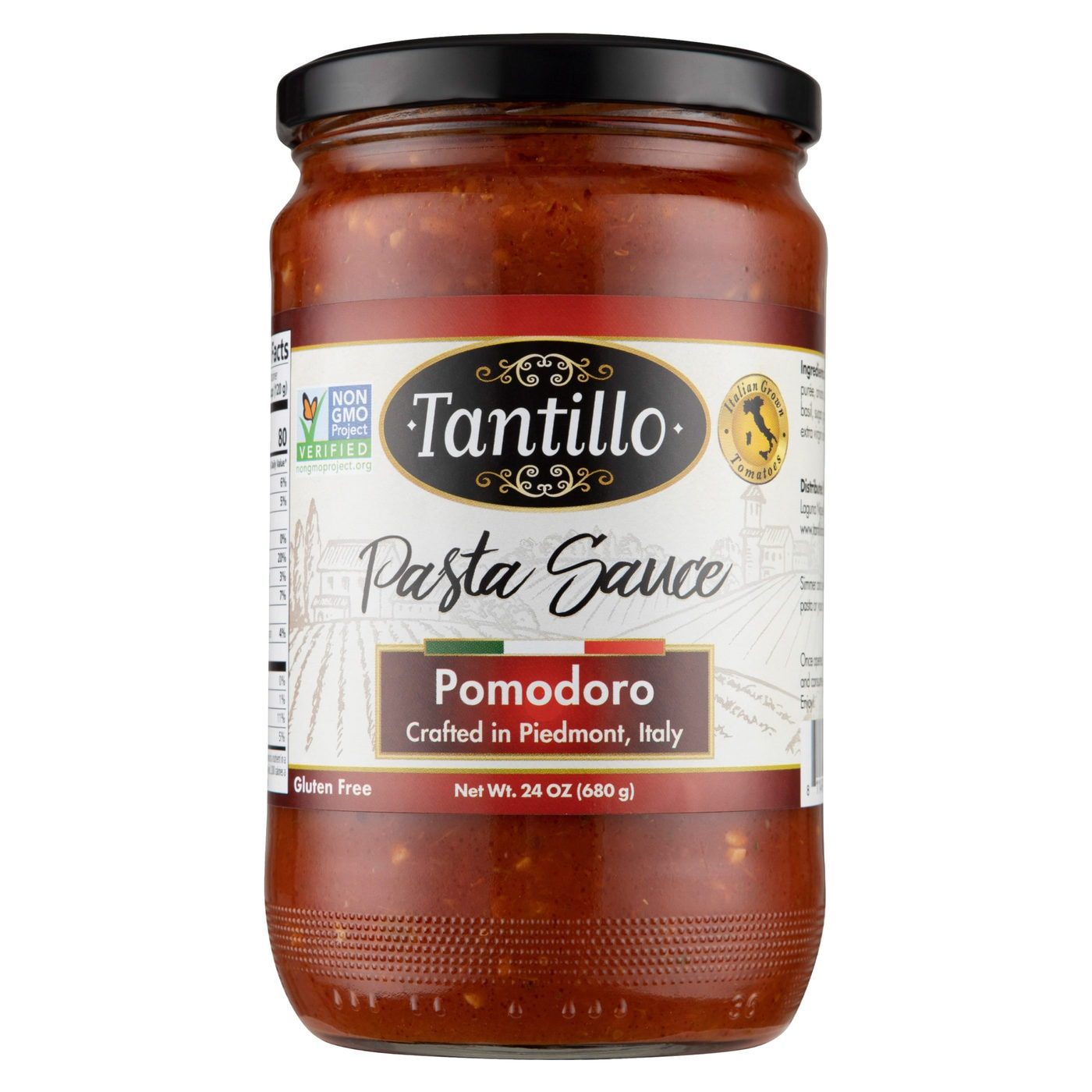 Tantillo Imported Italian Pomodoro Pasta Sauce 24oz (Pack of 2)