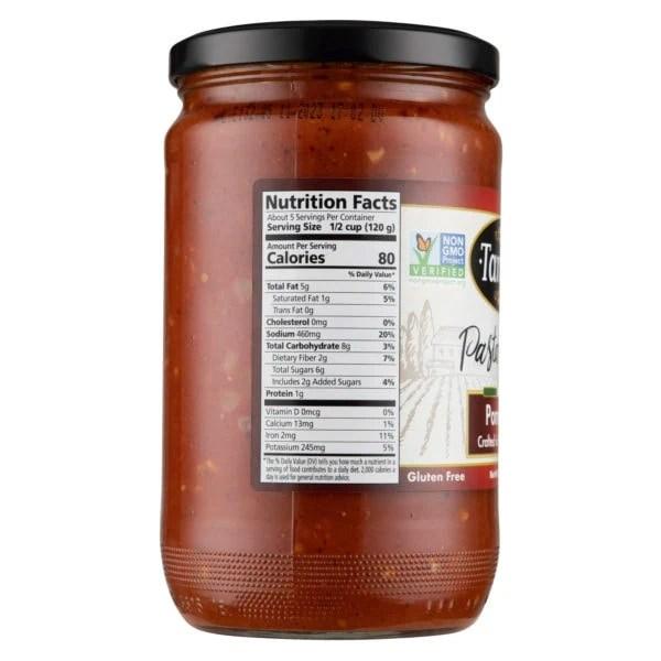 24oz Pomodoro Nutritional scaled