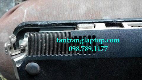 Hàn nhựa laptop bể, độ song tản nhiệt laptop ở quận Tân Phú TPHCM