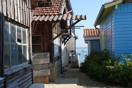 L'Herbe – en liten by vid Atlandkusten, där det bara bor ostronodlare
