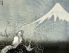 dragon hokusai