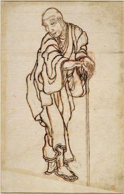 hokusai portrait