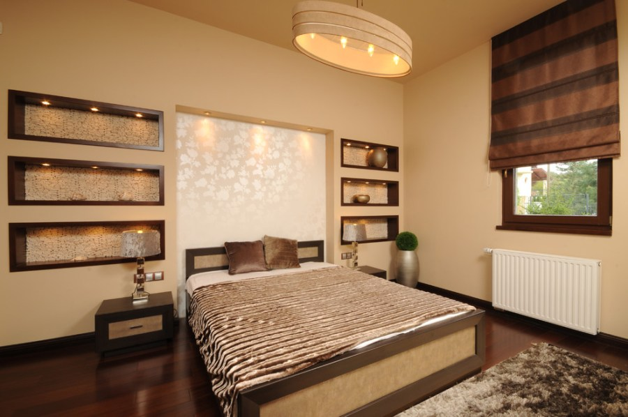 Ideas To Make Your Bedroom Romantic And Sensual   Custom Home Design Best Wall Lighting And Decor For Sensual Bedroom  Image 2 of 9