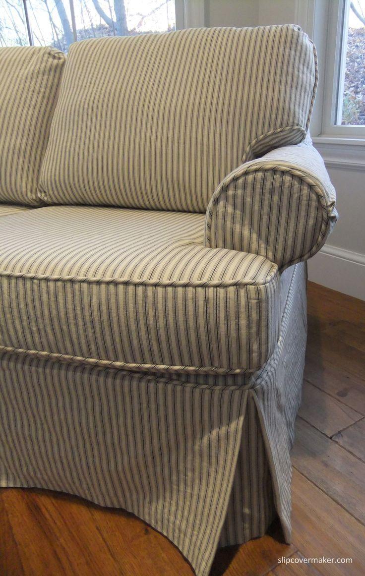 20 Choices Of Striped Sofa Slipcovers Sofa Ideas