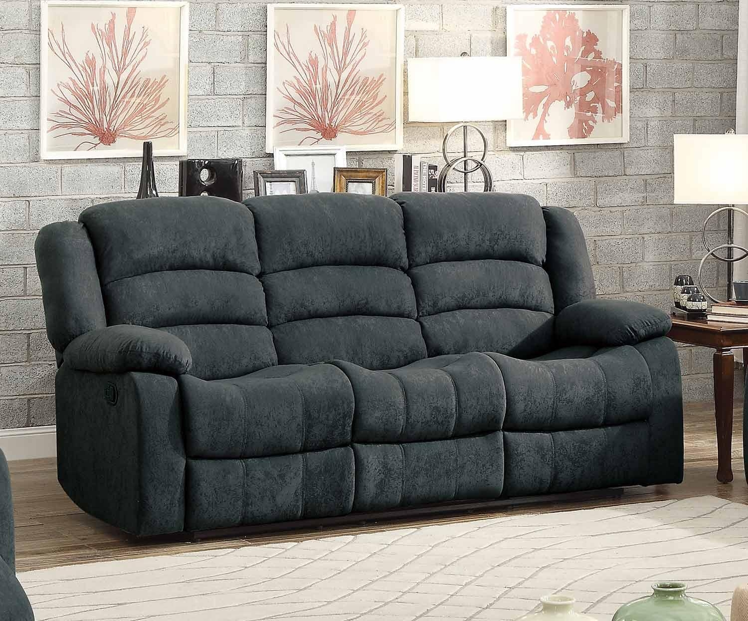 Rustic Leather Couch Set