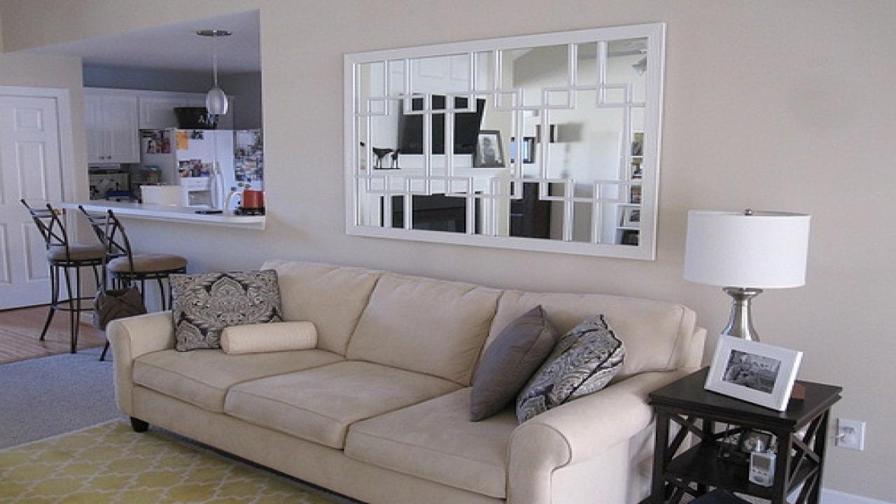 Small Scale Leather Sectional