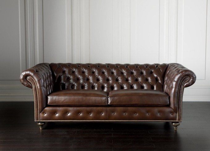 ethan allen chesterfield sofa leather catosfera net