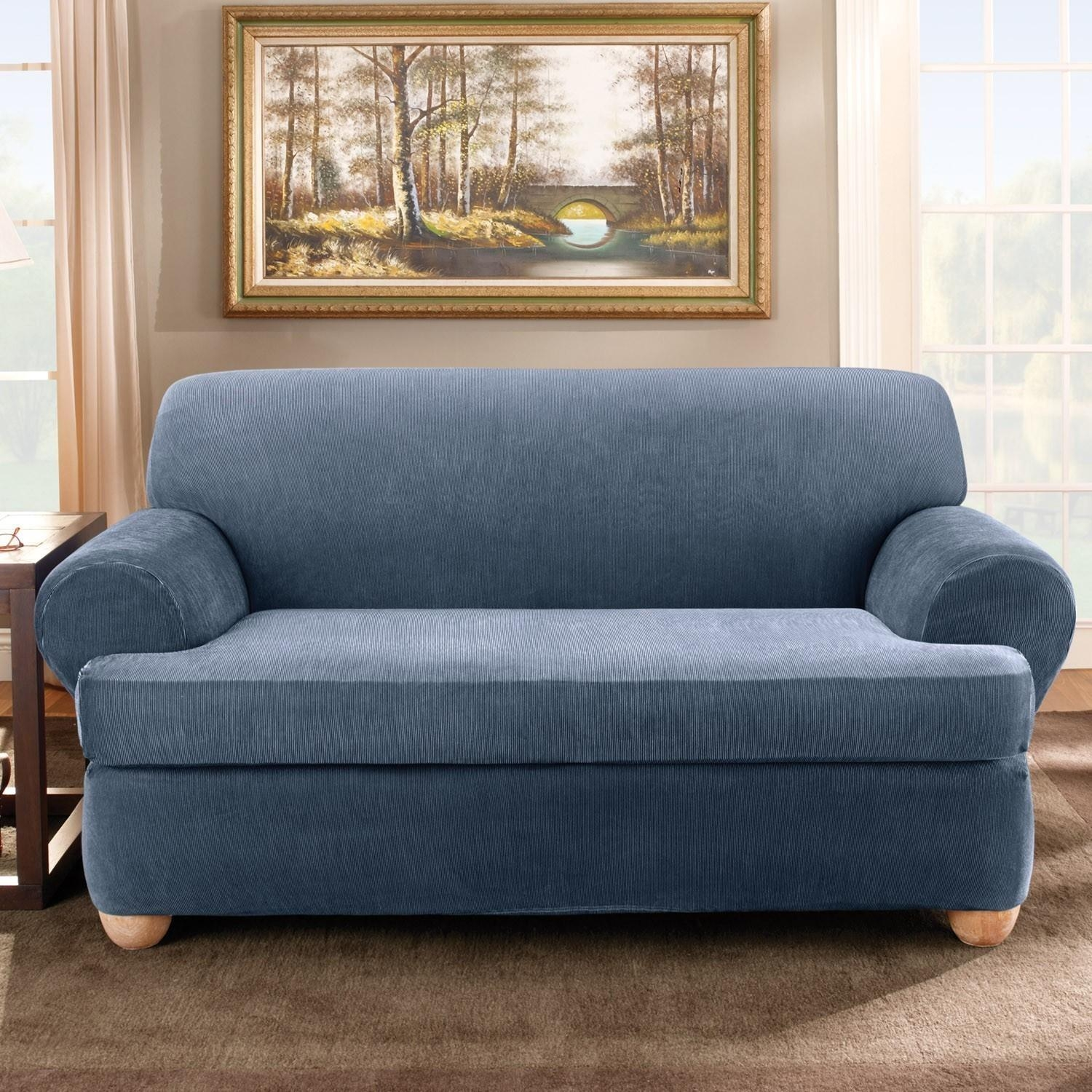 Cushions Covers Separate Fitted Sofa